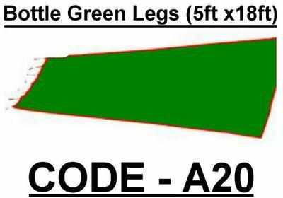 BA020 - Bottle Green Legs (5w X 18h)