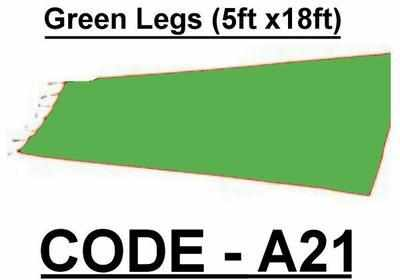 BA021 - Green Legs (5w X 18h)