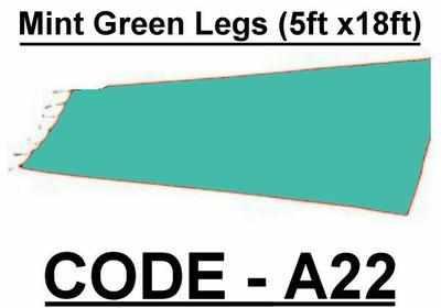 BA022 - Mint Green Legs (5w X 18h)