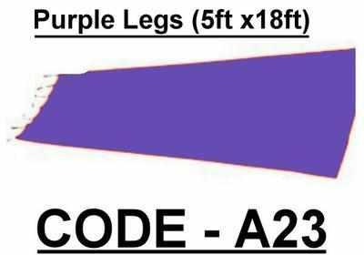 BA023 - Purple Legs (5w X 18h)