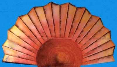 BA030 - Sun-Fan-Shaped (30w X 18h)