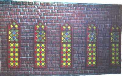 BB012 - Stained Glass Windows (30w X 18h)