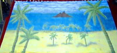 BC005 - Desert Island (30w X 14h)