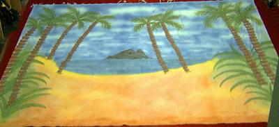 BC006 - Desert Island Beach (30w x 18h)