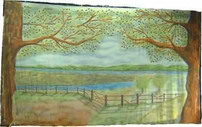 BC017 - River Landscape (30w X 18h)