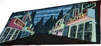 BD001 -Broadway - Times Square UV (30w X 14h)