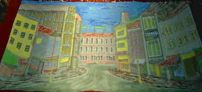 BD005 -New York Street - Perspective (30w x 14h)
