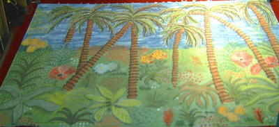 BE008 -Tropical Jungle (30w x 18h)