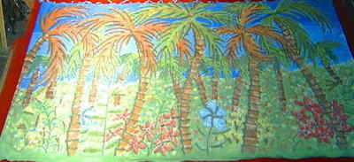 BE006 -Tropical Jungle (30w x 14h)