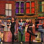 avenue q -slideshow - a1stage scenery and set hire for