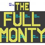 The Full Monty Sign Wattage - A1STAGE SCENERY AND SET HIRE FOR