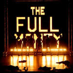 the full monty sign on stage - a1stage scenery and set hire for