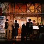 annie - photo of street tabs - a1stage scenery and set hire for