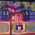 hairspray - c01 - a1stage scenery and set hire for