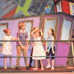 hairspray - c20 - a1stage scenery and set hire for