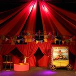 banner -  barnum - a1stage scenery and set hire for