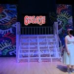 GREASE - A1 STAGE SCENERY AND SET HIRE FOR - 01c