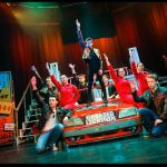 GREASE - A1 STAGE SCENERY AND SET HIRE FOR - Greased Lightning 2