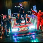 GREASE - A1 STAGE SCENERY AND SET HIRE FOR - Greased Lightning 4