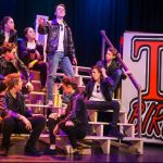 GREASE - A1 STAGE SCENERY AND SET HIRE FOR - T Birds 2