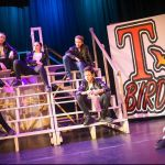 GREASE - A1 STAGE SCENERY AND SET HIRE FOR - T Birds