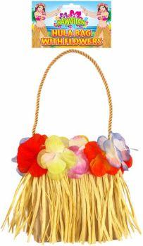 Hula Bag with Flowers