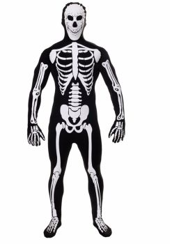 Glow in the Dark Skeleton Body Suit