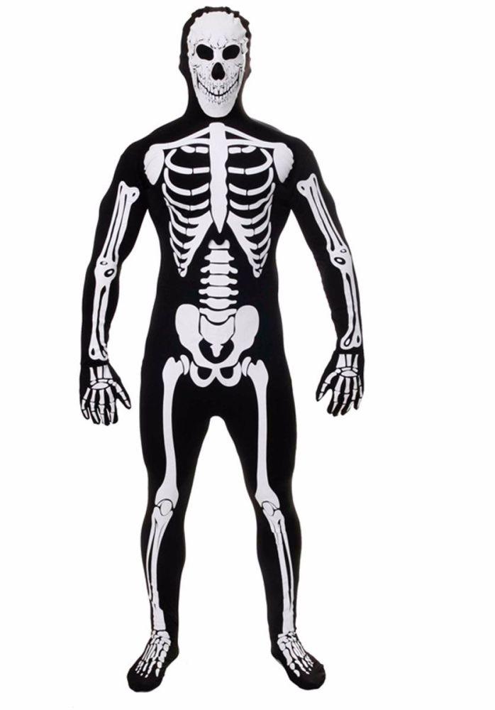 Glow in the Dark Skeleton Body Suit