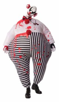 Circus Hell - Evil Clown Infl8 suit