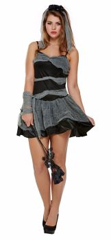Dead And Buried Bride Adult Costume