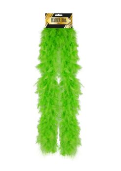 Feather Boa - Green