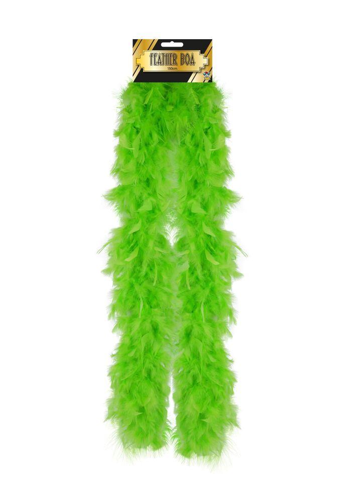 Feather Boa - Green