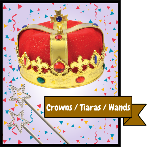 Crowns, Tiaras and Wands