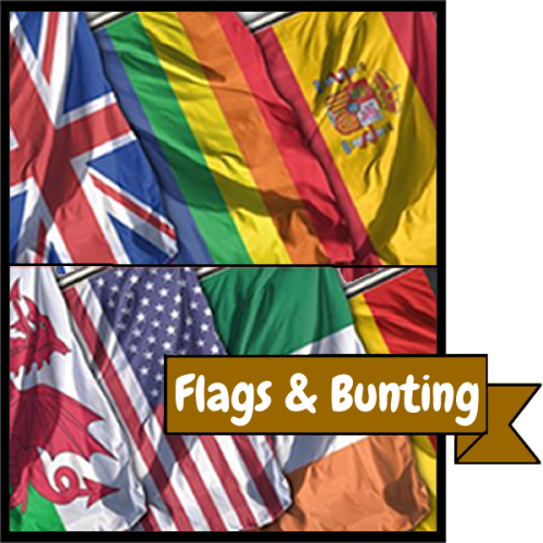 5ft x 3ft Flags