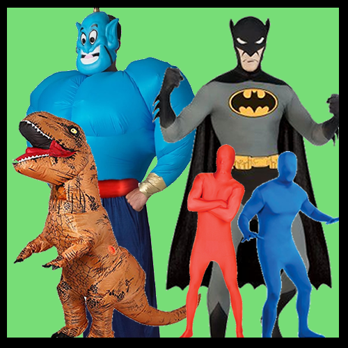 Morphsuit / Inflatable Costumes / Ride-On