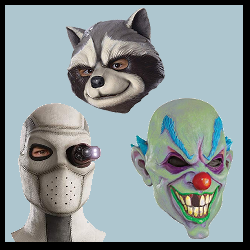 Rubber/Novelty Masks