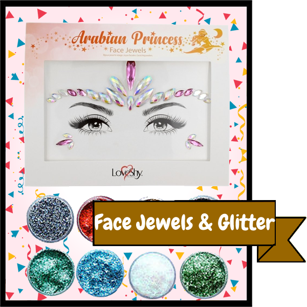 Face Jewels & Glitters