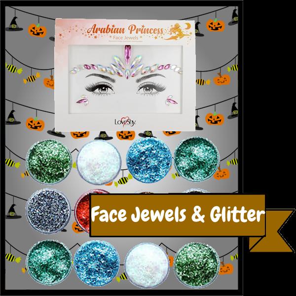 Face Jewels & Glitter Gels