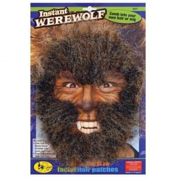 Instant Werewolf - Self Adhesive Facial Hair Patches
