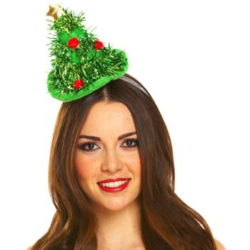 Christmas Tree on Headband