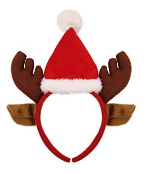 Reindeer Headband with Hat