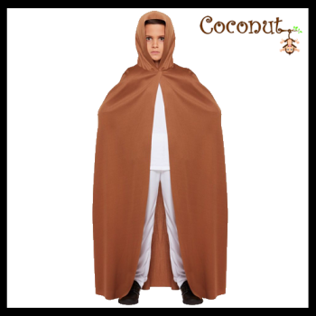 Brown Cape with Hood