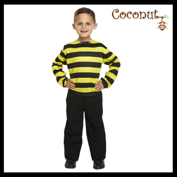 Black and Yellow Striped Jumper