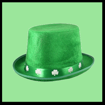 Irish Topper with Clovers