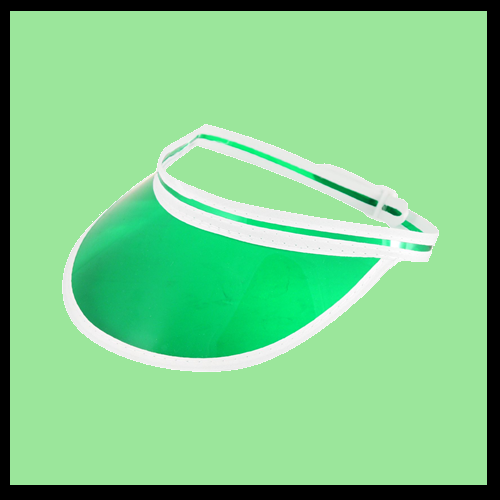 Poker Visor - Green