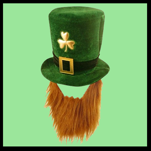 Shamrock Hat with Beard