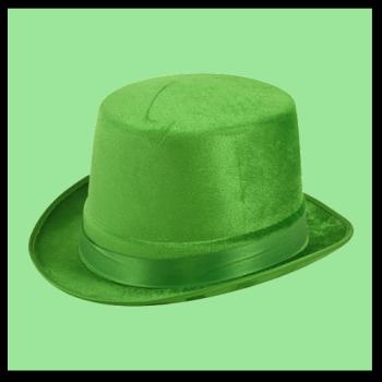 Velour Topper - Green
