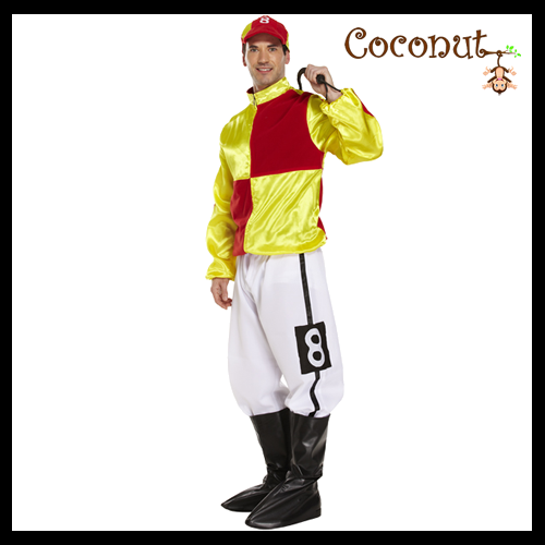 Jockey - Red / Yellow