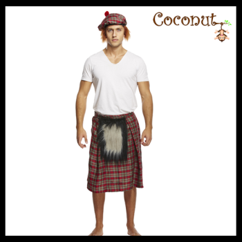 Kilt with Sporran & Hat