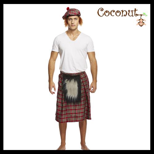 Kilt with Sporran & Hat